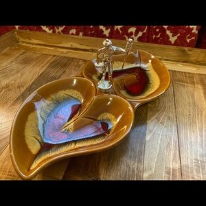 Vintage Curling candy dish
